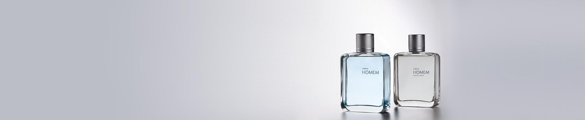 Dos perfumes Natura Homem
