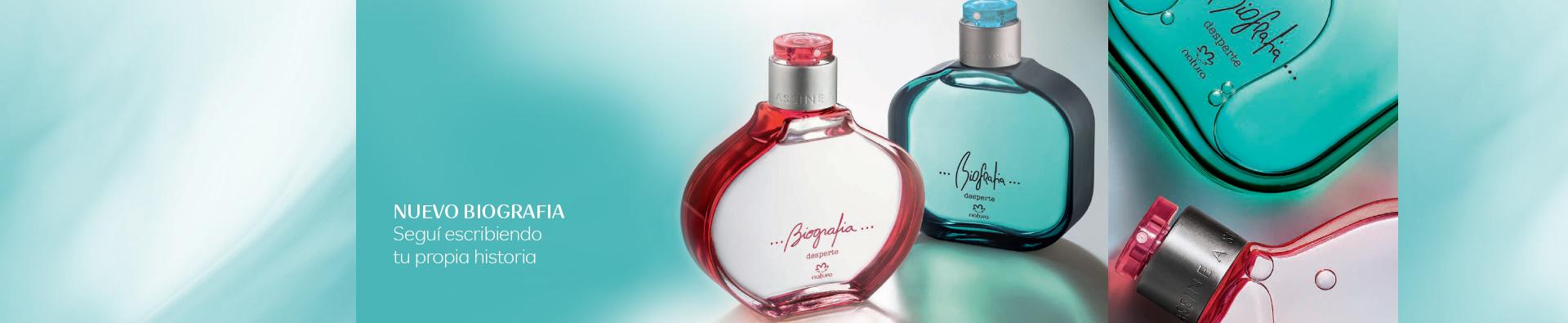 Dos perfumes Biografia