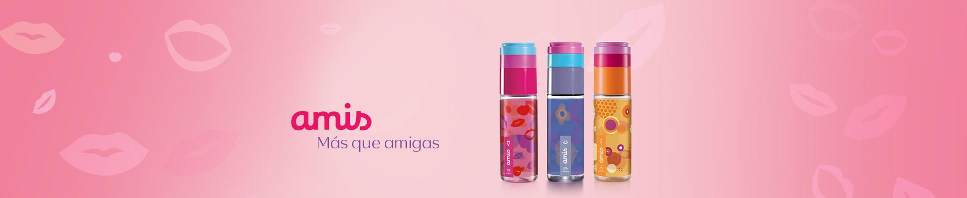 Tres perfumes Amis