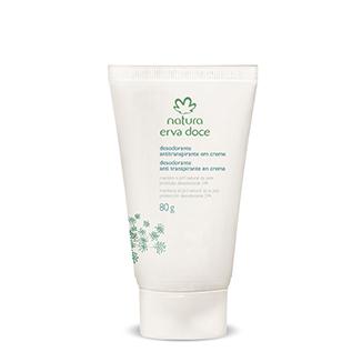 Erva Doce – Desodorante Antitranspirante en Crema