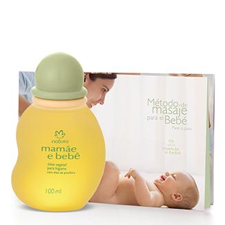 Mamá y Bebé - Óleo vegetal para higiene y masajes