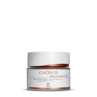 Chronos - Crema antiseñales firmeza y luminosidad 45+
