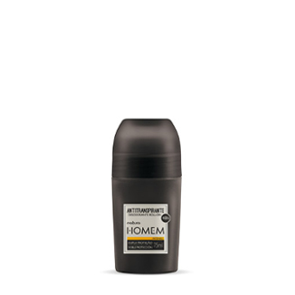 Homem - Desodorante antitranspirante Roll-On - Intenso