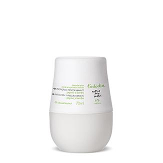 Tododia - Desodorante antitranspirante Roll-On - Pepino y bambú