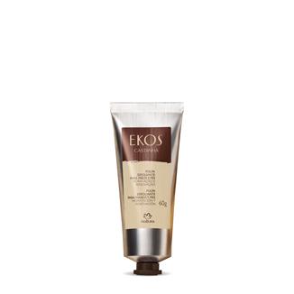 Ekos - Pulpa exfoliante para manos y pies - Castaña