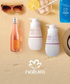 imagenes de productos Natura para el verano