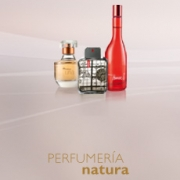 Tres perfumes diferentes de Natura