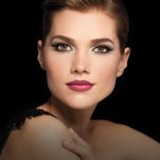 rostro de mujer maquillado
