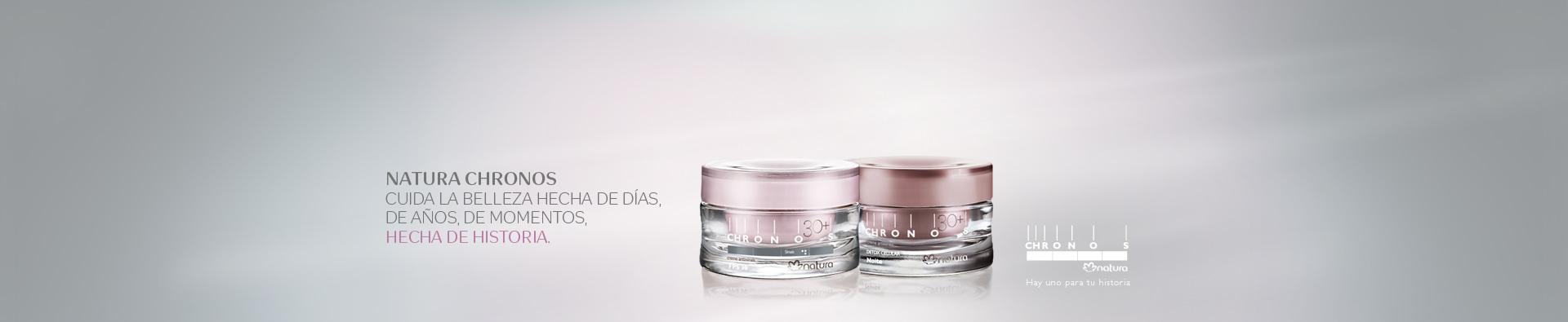 dos cremas de hidratación antiseñales Chronos