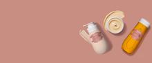 Productos Natura Tododia presentados sobre una base recta